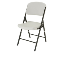 COMMERCIAL CONTOURED FOLDING CHAIR 4 PACK